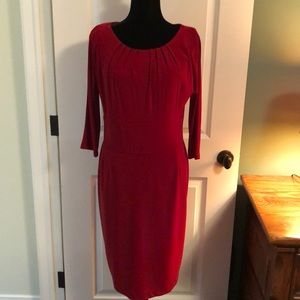 Size 14 red dress
